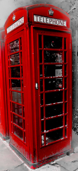 Russell Square Telephone Box