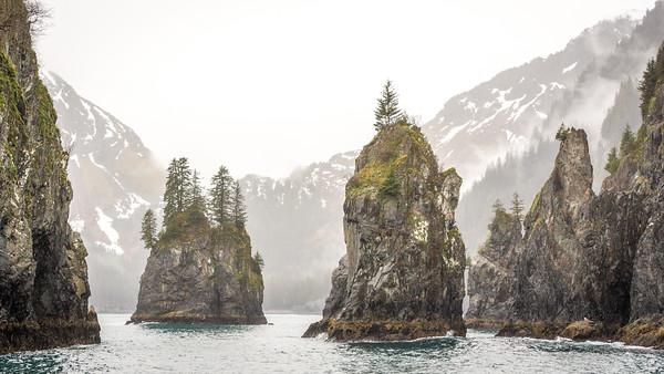 Resurrection Bay  Kenai Fjords National Park Seward, Alaska