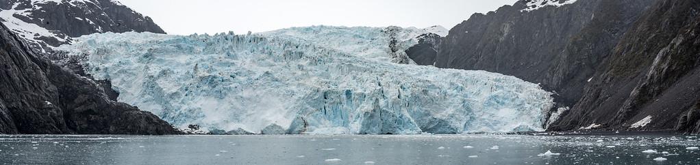 Holgate Glacier  Holgate Glacier in the Kenai Fjords National Park flows outward from the Harding Icefield toward the Holgate Arm of Aialik Bay.  Resurrection Bay Seward, Alaska