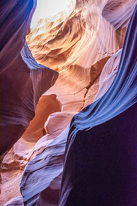 Secret Antelope Canyon  Lake Powell, Arizona