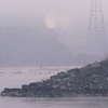 Foggy Morning at Conowingo<br /> <br /> A thick morning fog blankets the river below Conowingo Dam.<br /> <br /> Conowingo, MD