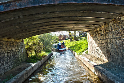 Llangollen Canal  The Llangollen Canal is a navigable canal crossing the border between England and Wales.