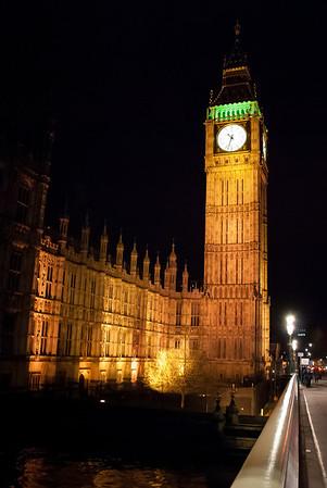 Big Ben     View from Westminster Bridge