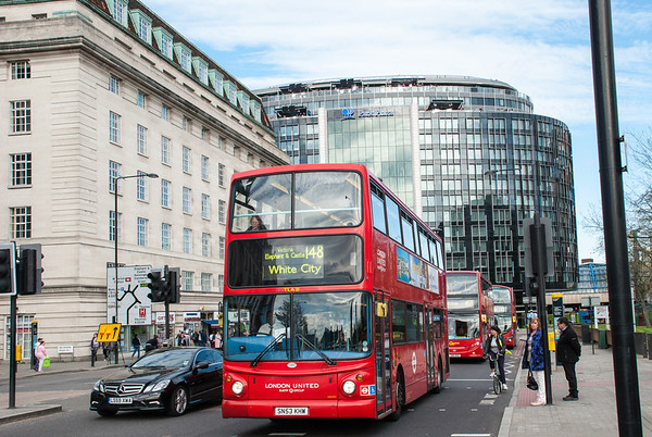 London  Iconic double-decker bus