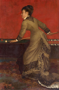 Elegant at Billiards