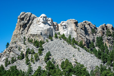 Mount Rushmore National Memorial South Dakota