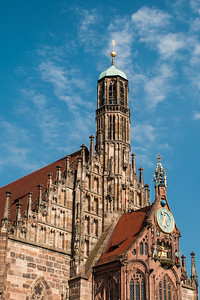 Frauenkirche (Church of our Lady)  Nuremberg, Germany
