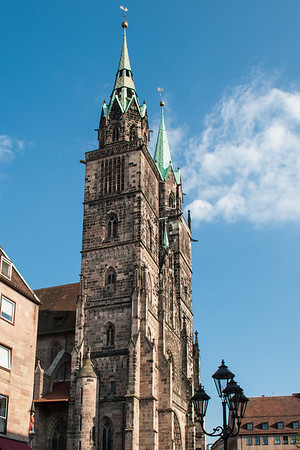 St. Lorenzkirche (St. Lawrence's Church)  Nuremberg, Germany