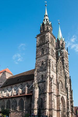 St. Lorenzkirche (St. Lawrence's Church)  Nuremberg, Germany
