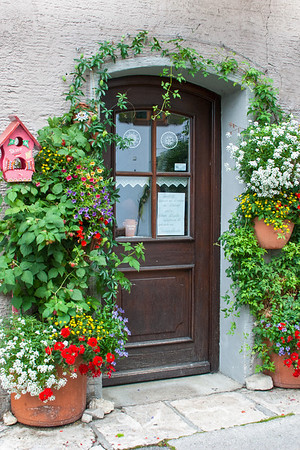 Oberammergau Doorway  Oberammergau, Germany