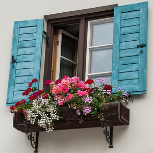 Window Dressing  Oberammergau, Germany