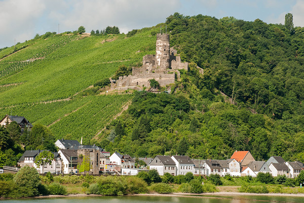 Furstenberg Castle on the Rhine River  Germany