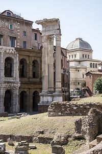 Ruins  Rome, Italy