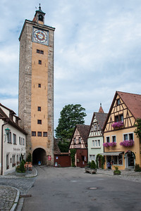 Rothenburg Town Clock  Rothenburg, Germany