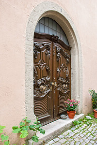 Rothenburg Doorway  Rothenburg, Germany