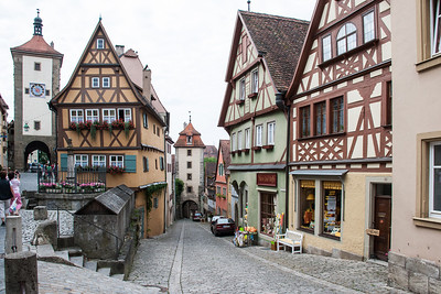 Rothenburg Street  Rothenberg, Germany