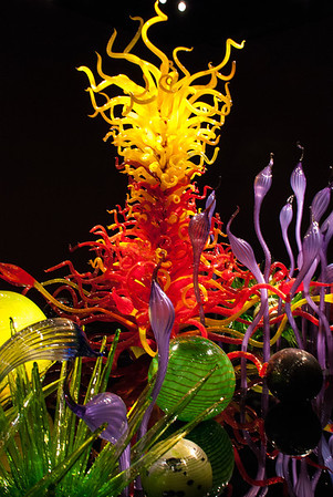 Chihuly Garden and Glass Seattle Center  Seattle, Washington