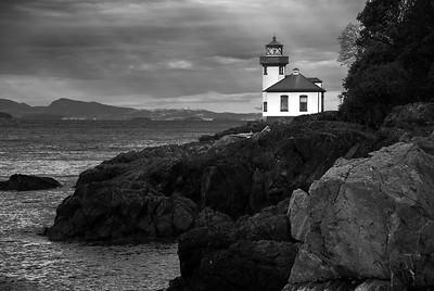 Lime Kiln Point Lighthouse Washington State
