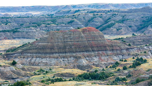 Painted Canyon  Teddy Roosevelt National Park Medora, North Dakota
