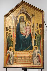 Uffizzi Gallery Giotto di Bondone's Ognissanti Madonna  Florence, Italy