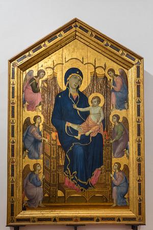 Uffizzi Gallery Duccio di Boninsegna's Maesta  Florence, Italy