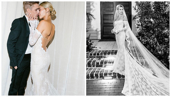 header_image_Fustany-fashion-weddings-Hailey-bieber-modern-classic-wedding-dress-mainimage