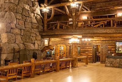 Old Faithful Inn  Yellowstone National Park