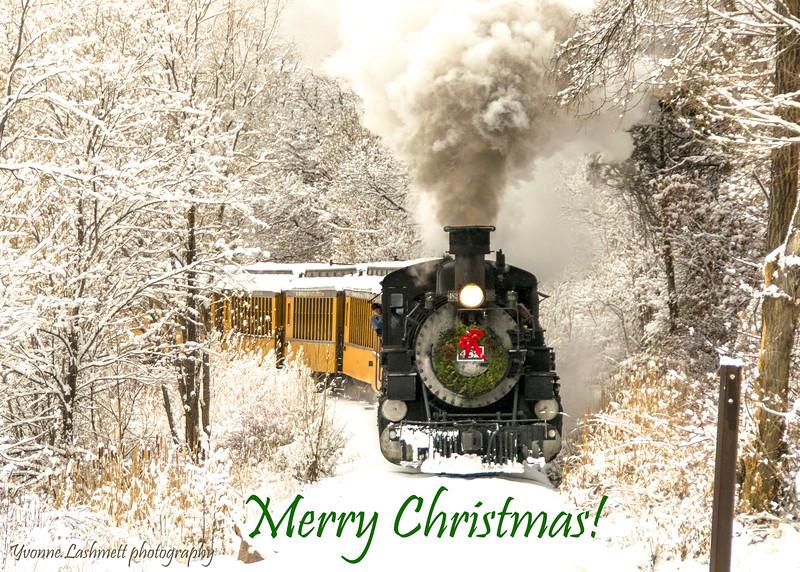Christmas Train, Merry Christmas!