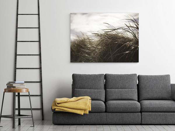 Frame on the wall, mock up poster, 3d illustration, 3d render