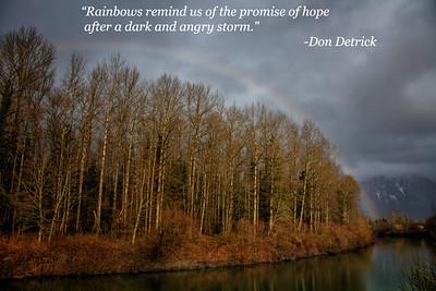 Rainbow Quote - Detrick