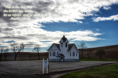 Country Church Rejoice Quote