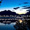 For I know the plans Jeremiah 29 11 NIV - dawn in Glacier Park