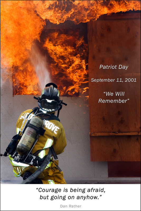We remember - the shock, tears, fears, loss, anger, bravery, patriotism, strength, pride, love, compassion and more!
