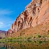 Rock Formation at Colorado River Page Arizona