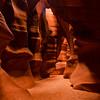 Antelope Canyon at Page Arizona
