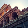 The Colosseo or Coloesseum in Rome Italy