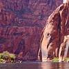 Canyon at Colorado River Page Arizona