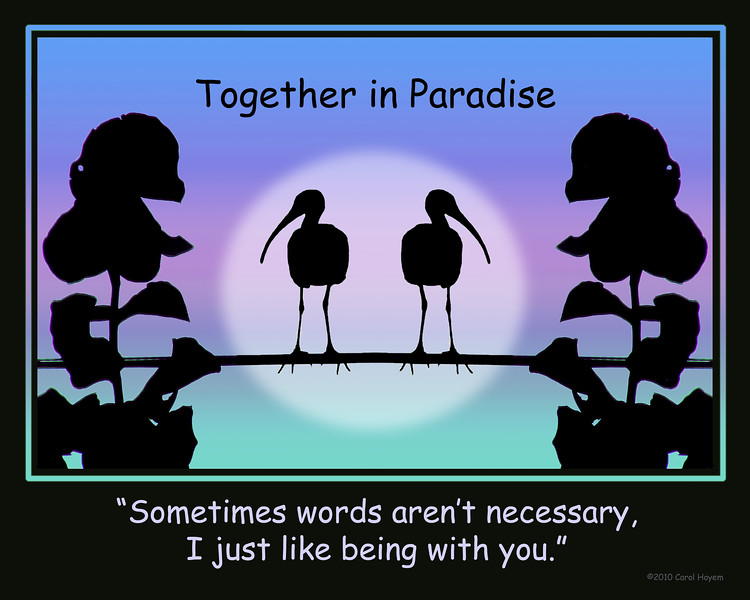 Together-Words Aren't Necessary