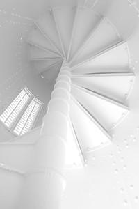 Guantanamo Bay Lighthouse Spiral Steps