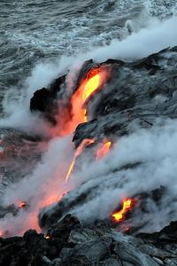 Volcano Kilauea Ocean Flow