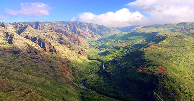 Waimea Canyon, Wailua River in Kauai