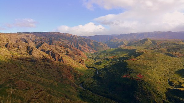 Waimea Canyon, Mauka View