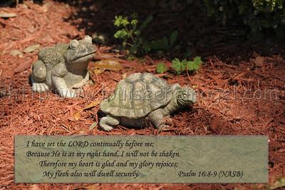 Psalm 16:8-9