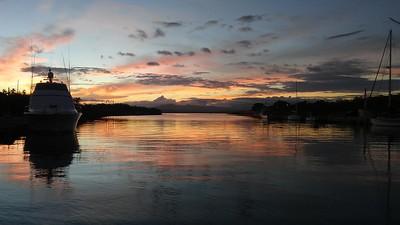 Cuban Sunset at GTMO Bay