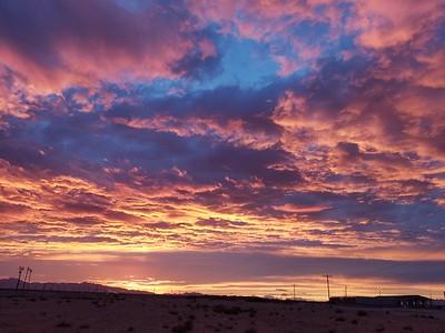 El Paso, Sunset