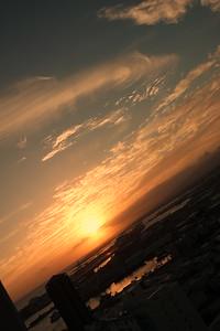 China Town Sunset Dark