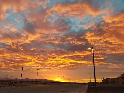 El Paso, Sky on Fire