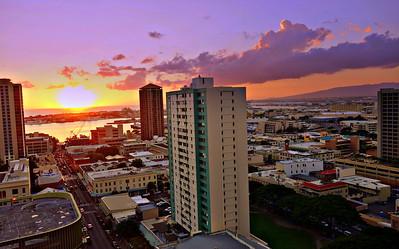 Downtown Honolulu, Hawaii