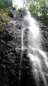 KA'AU FALLS COLOR TRANSITION
