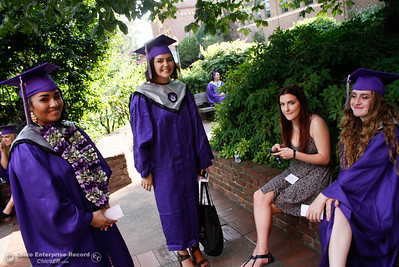 Inspire School of Arts & Sciences commencement ceremony for the class of 2017 Tuesday June 6, 2017 in Chico, California. (Emily Bertolino -- Enterprise-Record)